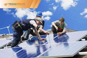 Solar Panel Installing a Solar Panel