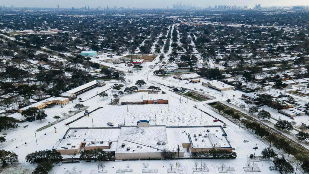 City-In-A-Snow