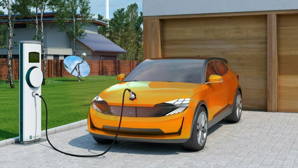 Electric-Car-Charging-Station-At-Home