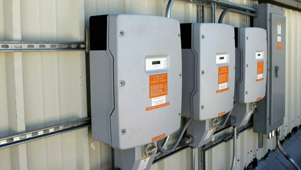 Light-Grey-Solar-Inverters