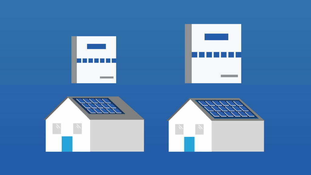 Houses-And-Solar-Inverters