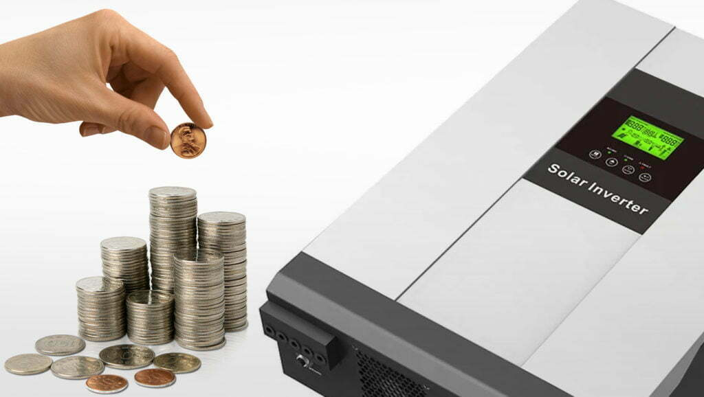 Solar-Inverter-And-Coins